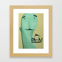 Avatard Framed Art Print