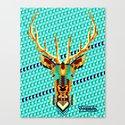 Bambi Stardust Canvas Print