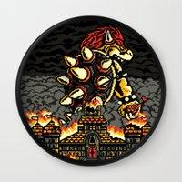 BOWZILLA Wall Clock
