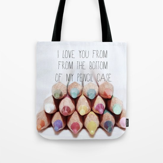 Pencil Case Tote Bag