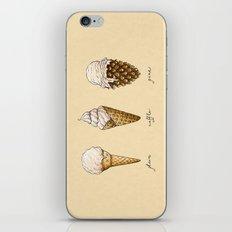 Ice Cream Cones iPhone & iPod Skin