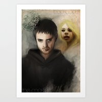 the Master & the BadWolf Art Print