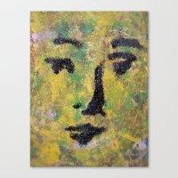 VENUSIAN FACE15 Canvas Print