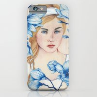 iPhone & iPod Case featuring Porcelain Doll by The White Deer