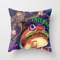 Welcome to the internet Throw Pillow