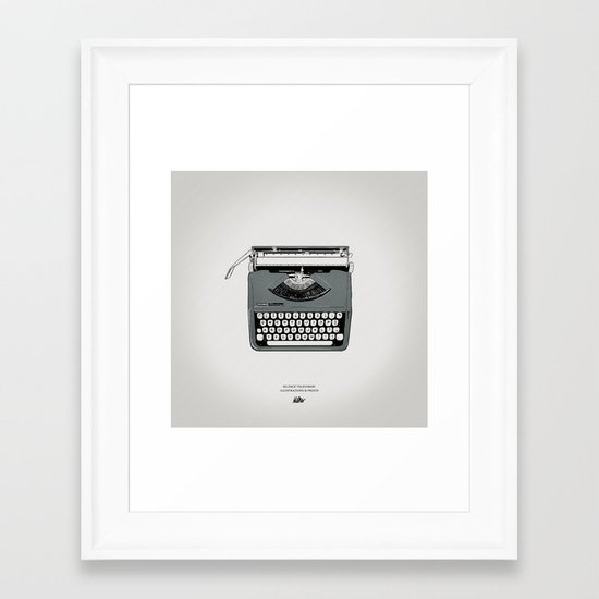 Icons 005 Framed Art Print