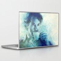 tea Laptop & iPad Skins featuring Tea by Anna Dittmann