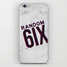 RANDOM6IX3D iPhone & iPod Skin