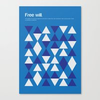 Free Will Canvas Print