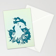 Octopus Rex 02 Stationery Cards