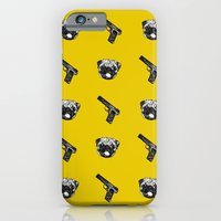 iPhone & iPod Case featuring PUG LIFE by robin