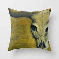 Dry. Throw Pillow