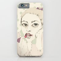 iPhone & iPod Case featuring lipstick by Cecilia Sánchez