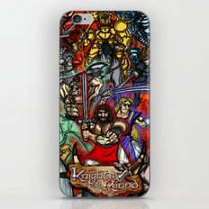 Knights of the Round iPhone & iPod Skin