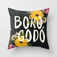 Borogodó Throw Pillow