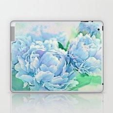Blue Mist Peonies Laptop & iPad Skin
