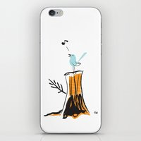 And Your Bird Can Sing iPhone & iPod Skin