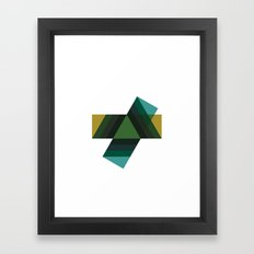 #456 Echoes – Geometry Daily Framed Art Print