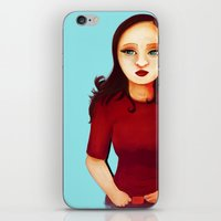 Here comes trouble iPhone & iPod Skin