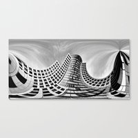 Urban City Canvas Print
