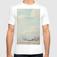 Summer Days... Mens Fitted Tee White SMALL