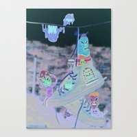 Locals Only : Guayaquil … Canvas Print