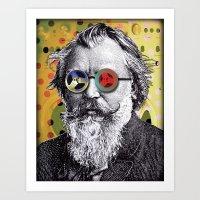 Brahms In Reel To Reel G… Art Print