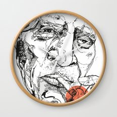 Howlin' Wolf - Get your Howl! Wall Clock