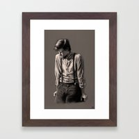 Deep Thought - Doctor Who Framed Art Print