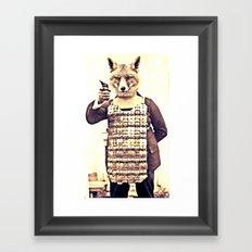 FOXRIOT Framed Art Print
