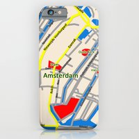 Amsterdam Map Design iPhone 6 Slim Case