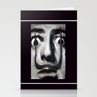 I am drugs ( Salvador Dali ) Stationery Cards