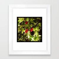 Real Christmas Framed Art Print