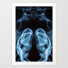 Smoke Photography #2 Art Print