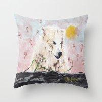 Polar Bear (day Excursio… Throw Pillow