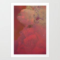 Solar Crystals IV Art Print