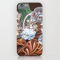 iPhone & iPod Case featuring Still life study of Silver by Annette Jimerson