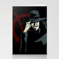 V for Vendetta (e1) Stationery Cards