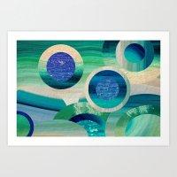 SEA-NCHRONICITY 2 Art Print