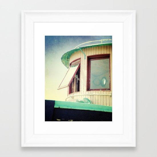 Miss Charlott II Framed Art Print