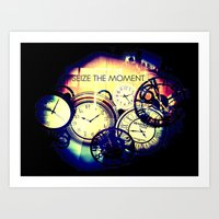 Seize The Moment Art Print