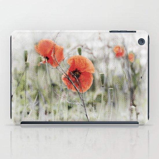 Poppies(mist). iPad Case