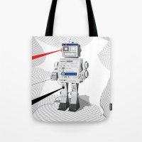 Photobot Tote Bag