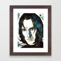 Professer Snape Framed Art Print