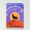Night of the Wandering Wolf Stationery Cards