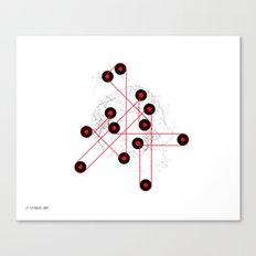 06: Feedback Loop Canvas Print