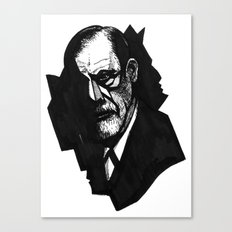 Sigmund Freud Canvas Print