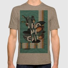 1965 Vintage Garden Mens Fitted Tee Tri-Coffee SMALL