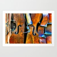 Orchestra Art Print
