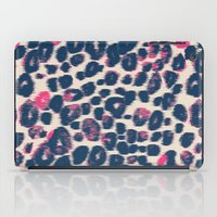 Ikat_animal_navy iPad Case